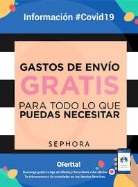 Información Sephora #Covid19