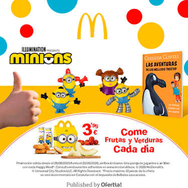 Happy Minions Meal- Page 1