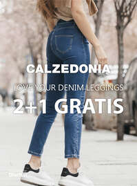 Love your denim leggings. 2+1 gratis