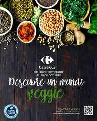 Descubre un mundo veggie