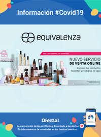 Información Equivalenza-Nuevo servicio de venta online #Covid19