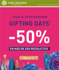 Gifting Days Yves Rocher