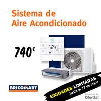 Sistema de Aire Acondicionado, unidades limitadas