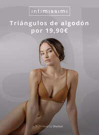 Triángulos de algodón por 19,90€