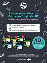 Este curso imprime con Cartuchos originales HP