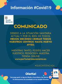 Comunicado #covid19 #quédatencasa