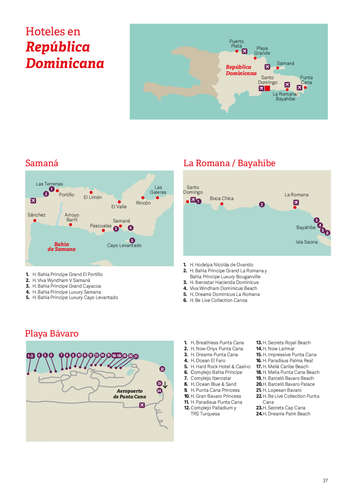 Caribe: República Dominicana, México, Jamaica, Cuba- Page 1