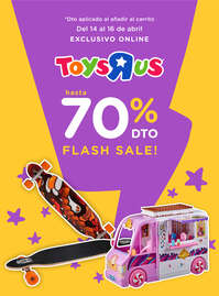 Hasta -70% dto FLASH SALE!