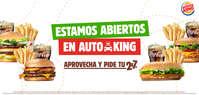 Estamos abiertos en Auto King