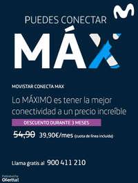 Puedes conectar MAX