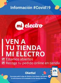 Información - Ven a tu tienda MiElectro #Covid19