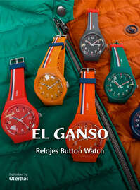 Relojes Button Watch