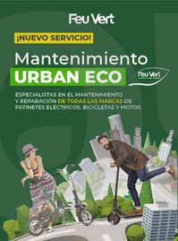 ¡Nuevo servicio! Mantenimiento Urban Eco 🍃