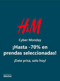 Cyber Monday hasta -70%