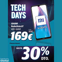 Tech Days hasta con 30%
