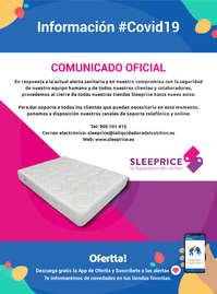 Comunicado oficial Sleeprice #Covid19