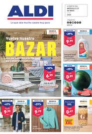 Vuelve nuestro BAZAR con los mejores precios para disfrutar como nunca
