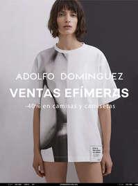 Ventas Efímeras. -40% en camisas y camisetas