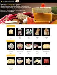Más de 150 tipos de queso