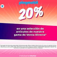20% en venta directa