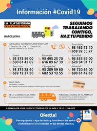 Información La Plataforma de la Construcción-Barcelona #Covid19