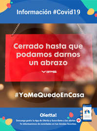 Cerrado hasta que podamos darnos un abrazo #Covid19 #YoMeQuedoEnCasa