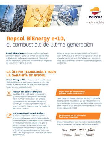 Repsol BiEnergy e+10- Page 1