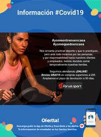 Información Forum Sport-Compra online #Covid19