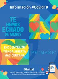 Información Primark #covid19