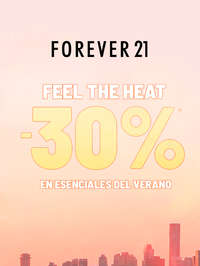 Feel the heat -30% en esenciales del verano