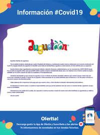 Información Juguetoon #covid19