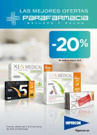 -20% en toda la marca XLS