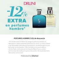 -12% extra en perfumes de hombre