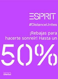 #DistanceUnites ¡Rebajas hasta un 50%!