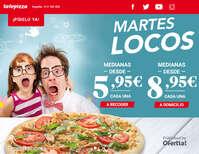 Martes locos en Telepizza