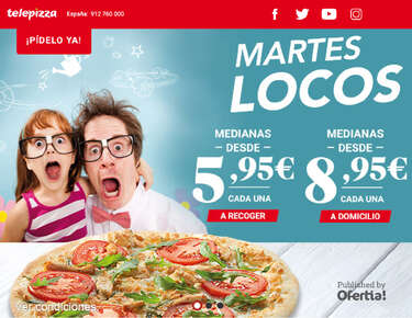 Martes locos en Telepizza- Page 1
