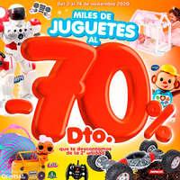 Miles de juguetes al -70%