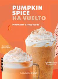 Pumpkin Spice ha vuelto 🎃