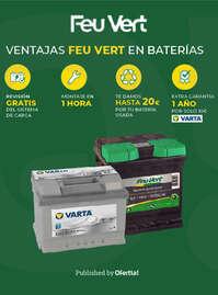 Ventajas Feu Vert en baterías 🤑