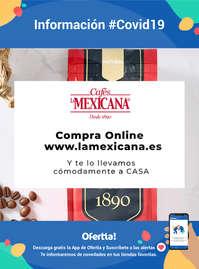 Información Cafés La Mexicana #Covid19 Compra Online