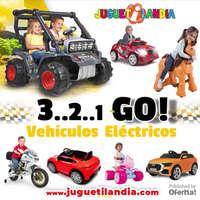 Vehículos eléctricos en Juguetilandia
