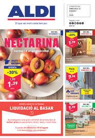 Nectarina sucosa i d'origen nacional