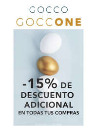 Gocco One -15% dto adicional