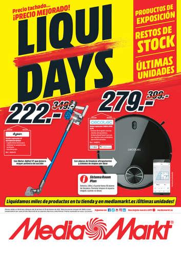 Precio tachado... ¡precio mejorado! Liqui Days- Page 1