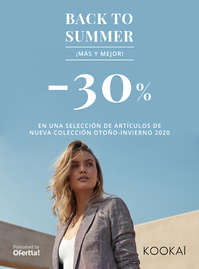 Back to Summer -30%