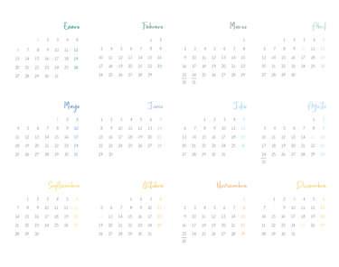 Calendario 2020- Page 1