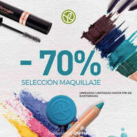 -70% en selección de maquillaje