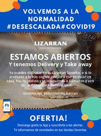 Estamos abiertos #Desescalada