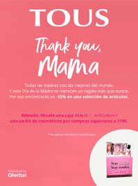 Thank you mama! -15% en una selección de artículos