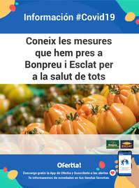 Bonpreu Información #covid19